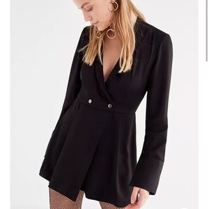 NWOT the fifth label collared black romper